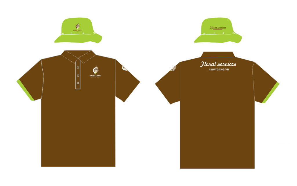 JD Floral Services T-Shirt Design