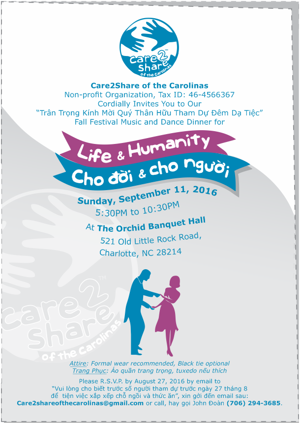 Care2Share of the Carolinas – backdrops