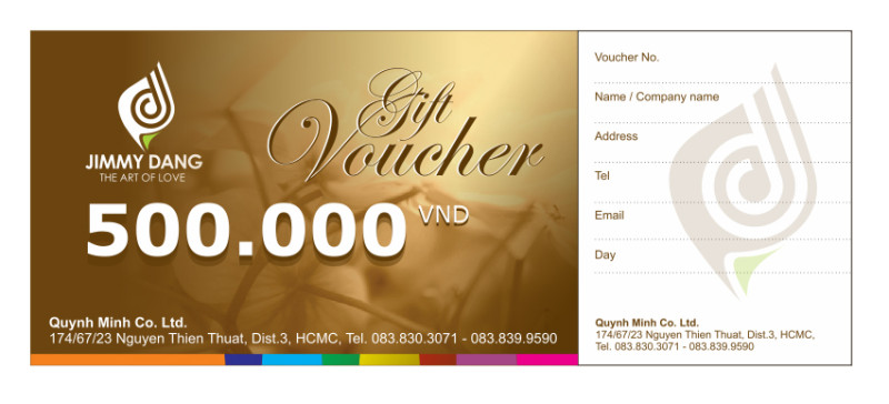JD Floral Services Voucher